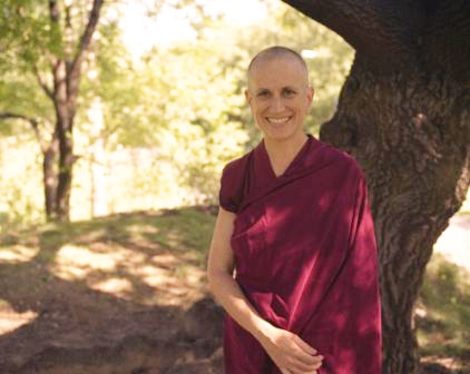 Ven. Thubten Chodron. Photo courtesy of DharmaFriendship.org