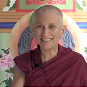 Venerable Thubten Chodron on Working with Anger