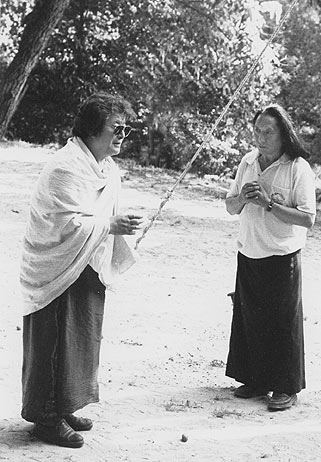 Thinley Norbu Rinpoche and Lama Tharchin Rinpoche